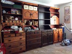 Bonanza szekrények átfestése krétafestékkel - Otthon, édes otthon Diy Furniture, Kitchens, Sweet Home, Bedroom, Home Decor, Living Room, Decoration Home, House Beautiful, Room Decor
