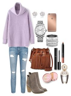 """""""..."""" by loremontes on Polyvore featuring Current/Elliott, Sbicca, FOSSIL, Calvin Klein, River Island, Henri Bendel, Mura, jane, Chanel and Marc Jacobs"""