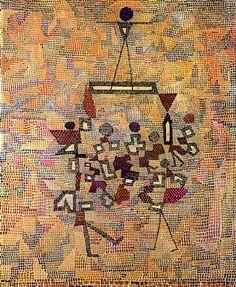 Uberbrücktes by Paul Klee