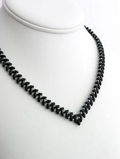 kacenkag / Náhrdelník čierny
