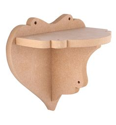 Wall Deco - Wall shelf heart 3D 200*165*12 mm