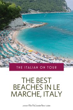 Planning a beach vacay to Le Marche, Italy? Discover the best beaches in Le Marche to visit on your next trip to Italy including travel tips from a local. Amazing Destinations, Travel Destinations, Italy Travel Tips, Free Travel, Driving In Italy, Italy Tours, By Train, European Travel, Solo Travel