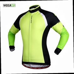 49.48$  Buy here - http://ali4xi.worldwells.pw/go.php?t=32505173610 - WOSAWE Winter Thermal Cycling Jacket Reflective Breathable Bike Bycle Cycle Long Sleeve Wind Coat Windproof Jersey Jackets 49.48$