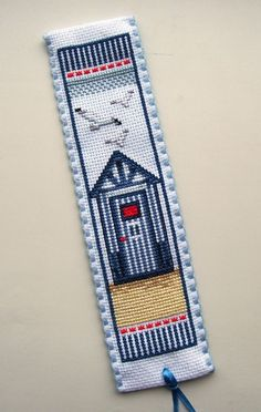 Vervaco Beach Hut bookmark.