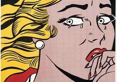 Crying Girl- Roy Lichtenstein