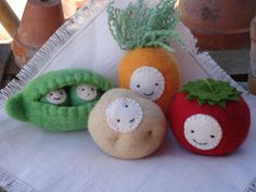 veggies are our friends - wouldn't it just be great to see a toddler carrying around that potato?