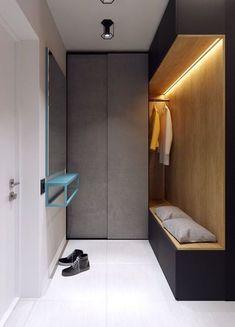 깔끔하고 실용적인 현관 인테리어 : 네이버 블로그 Entry Way Design, Entrance Design, Entrance Hall, Hall Design, Modern Interior, Interior Architecture, Interior Ideas, Hall Interior, Interior Doors