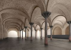 David Chipperfield Architects has revealed its masterplan for the former Bötzow Brewery in Berlin A As Architecture, David Chipperfield Architects, Art Studio Design, Spa Design, Royal Academy Of Arts, Museum, Built Environment, Romanesque, Beautiful Buildings