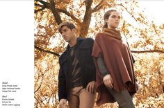 Vince Fall 2012 Lookbook. I love autumn colors!