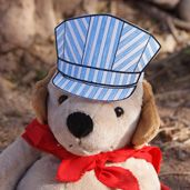 free printables to make a paper train engineer's hat craft