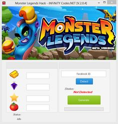 Monster Legends Hack - How To Get Free Gems, Gold and Food, Gold and Food Monster Legends hack Monster Legends Hack and Cheats Monster Legends Hack 2018 Updated Monster Legends Hack Monster Legends Hack Tool Monster Legends Hack APK Monster Legends H Monster Legends Game, Play Hacks, Game Resources, Private Server, Android Hacks, Test Card, App Hack, Mobile Legends, Mobile Game