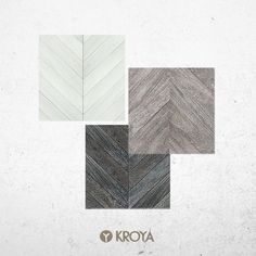 Get ready for 2016 with KROYA Floors' exotic collections. Get them here : www.kroyafloors.com  •   Floors pictured : - KROYA Gmelina White Chevron - KROYA Gmelina Black Chevron - KROYA Gmelina White Brown Chevron Black Chevron, Floors, Exotic, Collections, Abstract, Brown, Artwork, Pictures, Home Tiles