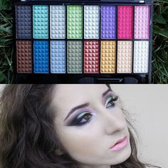 16 Color Shimmer Eye shadow Makeup Eye Shadow Palette #2    http://mystylecloset.net/