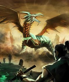 Dragon - invasion by *e-guerrero on deviantART User Profile, Dragon, Deviantart, Digital, Artist, Paintings, Artists