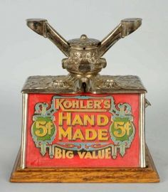 Cigar Cutter with Kohler's Advertising. : Lot 673