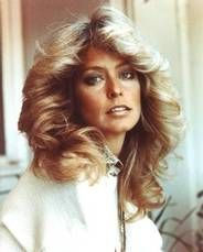 Farrah hair 1970.  How we all WISHED our hair looked! :-)
