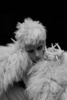 nothingpersonaluk:  Agyness Deyn in 'Spooky' by Tim Walker for Love Magazine, S/S 2015