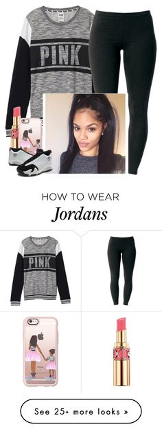 """""""Morning ✨"""" by saucinonyou999 on Polyvore featuring Victoria's Secret, Joe Browns, Yves Saint Laurent and Casetify"""
