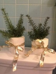 Add a hint of Christmas to your bathroom #ChristmasCountdown