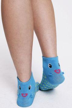 Novelty Fish Socks