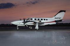 Cessna 421 (N421AT)