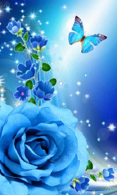 Looking for for inspiration for wallpaper?Browse around this site for aesthetic background inspiration. These unique background images will bring you joy. Blue Roses Wallpaper, Butterfly Wallpaper Iphone, Cute Wallpaper Backgrounds, Cellphone Wallpaper, Flower Wallpaper, Wallpaper Ideas, Butterfly Pictures, Butterfly Art, Flower Art