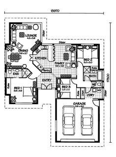 Australian House Plans Keswick Floor Plan