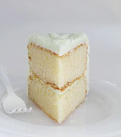 """The Perfect White Cake (i am baker). """"I have been searching for this cake for about two years now. In my experience, making white cake at home is just never as good as the bakery. Until now. I am not kidding when I tell you that this recipe is it.  The flavor is fantastic and the texture is truly perfection."""" Sounds perfect for vanilla cupcakes."""