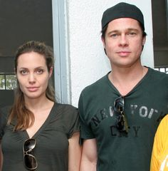 Angie and Brad