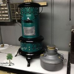 Vintage Perfection 530 Kerosene Heater Green and Black | eBay