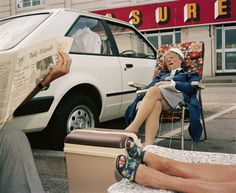 Martin Parr's early works 1971-1986
