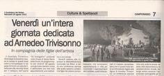 Appuntamento con #Trivisonno15 il 28 agosto a Campobasso, Quotidiano del Molise 26/08/2015
