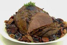 """"""", avagy Gabojsza konyhája: A legfinomabb szarvas sültem Food Porn, Pork, Beef, Recipes, Minden, Drink, Gastronomia, Kale Stir Fry"""