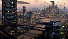 """Hacker city  By Eddie Mendoza """"the year 2078. with the rise of the new social media platform 'brainchip', neurohacking has become a lucrative white collar crime. the hub for all this illegal activity: hacker city, the las vegas of brain theft""""  #archifuture #science #scifi #alien #architecture #archdaily #nerd #art #illustration #fantasy #photography #artist #instadaily #instagood #3d #render #archilovers #future #travel #space #spaceship #city #fantascienza #cyberpunk #città"""