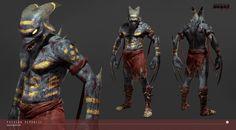 ArtStation - Shadow of The Beast - Aarbron, Wei Kang Lim Demon Games, Shadow Of The Beast, Beast Games, Cryptozoology, Looks Cool, Badass, Video Game, Artsy, Batman