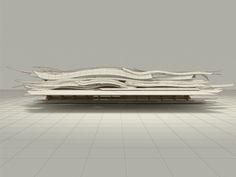 Architectural Concept Model  #conceptualarchitecturalmodels Pinned by www.modlar.com
