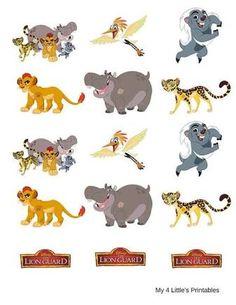 The Lion Guard printables. Lion Party, Lion King Party, Jungle Party, Safari Party, Jungle Decorations, Birthday Decorations, 4th Birthday Parties, 2nd Birthday, Birthday Ideas
