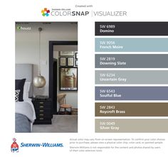 I Found These Colors With Colorsnap Visualizer For Iphone By Sherwin Williams Windy Blue Sw