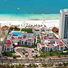 Cancun!   (Tommy and I's first trip together - Beachscape Kin ha Villas and Suites Exterior)
