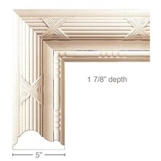 Reed & Ribbon with Bead & Barrel (Repeats x 1 Kitchen Shutters, Classical Kitchen, Red Oak, Home Reno, Baseboards, Cabinet Doors, Barrel, Moulding, Ribbon