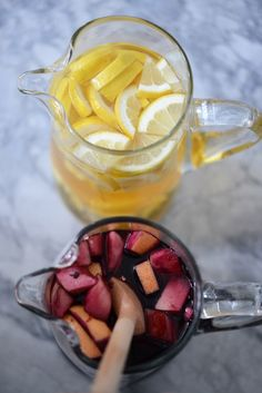 mother's day sangria bar<3