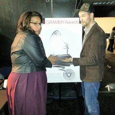 It's Alabama Shakes backstage! #GrammyNoms - @The GRAMMYs- #webstagram