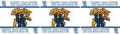 NCAA Kentucky Wildcats Wall Border