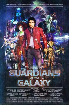 ⭐ MICHAEL JACKSON STARRING IN GUARDIANS OF THE  GALAXY  ⭐✴MICHAEL JACKSON IS THE STAR LORD✴