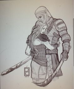 Zevran and The Warden