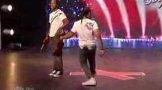 amazing violin on Americas got talent 2008, via YouTube.