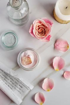 DIY: rose hibiscus whipped body butter