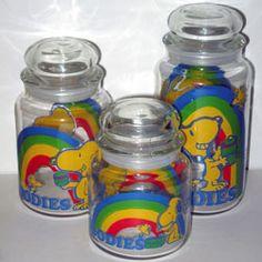 Snoopy & Woodstock Rainbow Goodies Jars