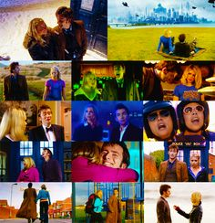 rose tyler & the doctor, season 2. They were made for each other. I don't care what anyone else has to say.