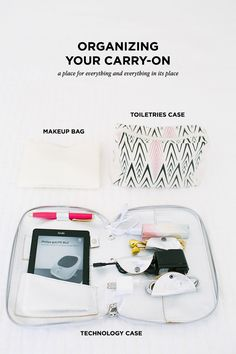 organizing your carry-on